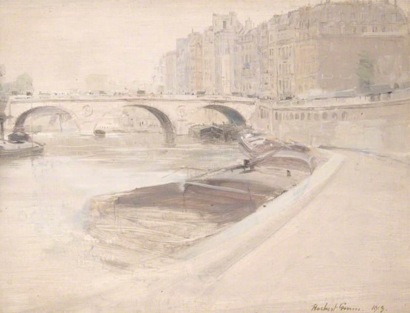 Le pont de Napoléon, Paris