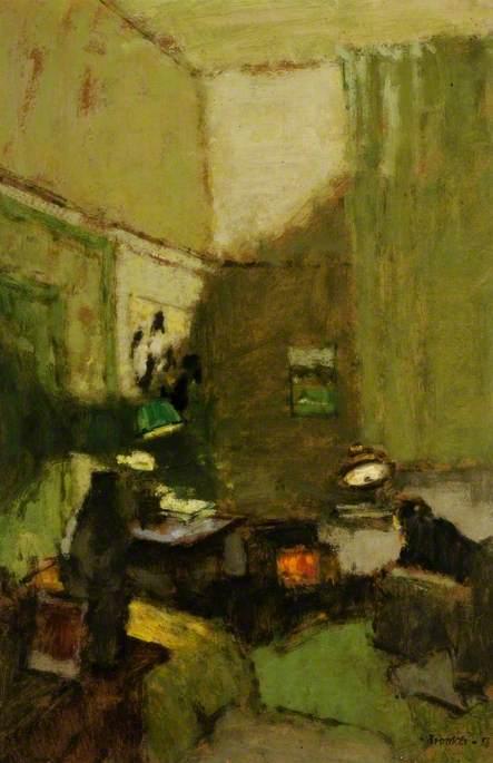 Interior by Lamplight