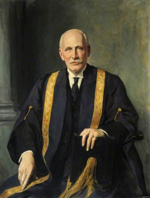 Sir Arthur Wallace Pickard-Cambridge (1873–1952), Vice-Chancellor of the University of Sheffield (1930–1938)