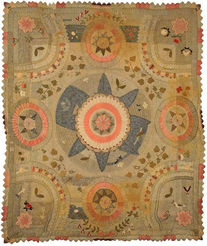 Wool Appliqué Quilt