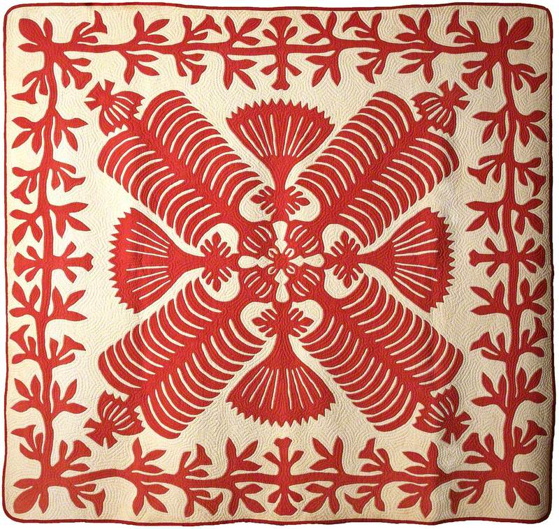 Queen Kapi'olani's Fan Quilt