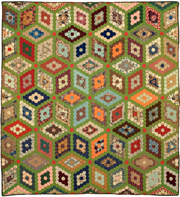 Mosaic Diamonds Quilt