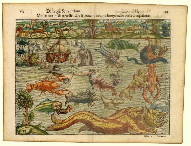Mostri Marini et Terrestri... (Monsters of Sea and Land...)