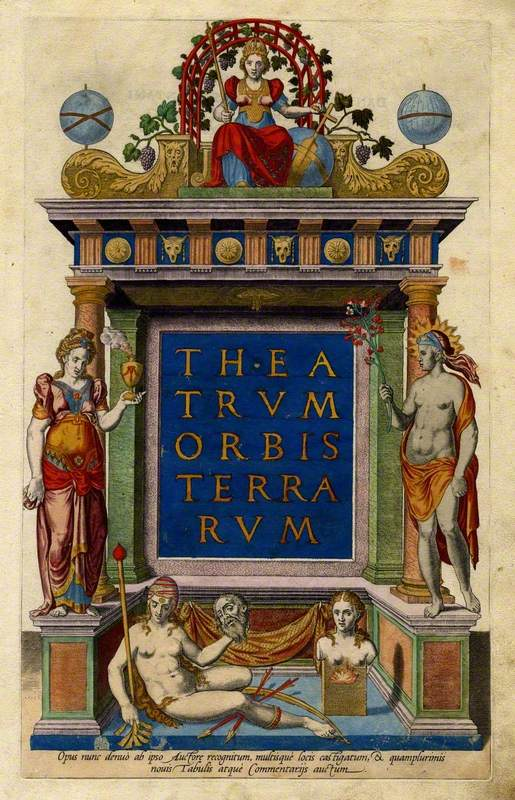 Title-page of 'Theatrum Orbis Terrarum'