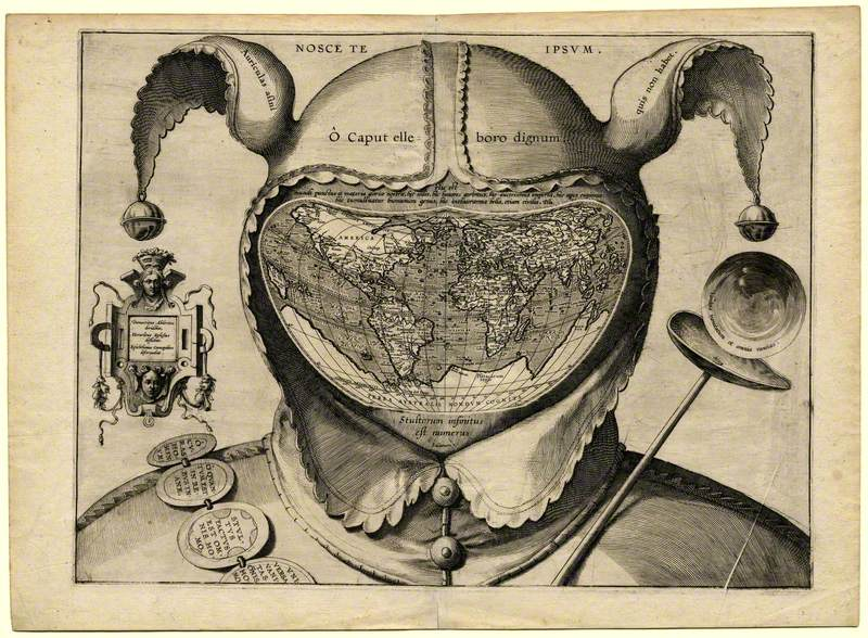 Fool's Head World Map