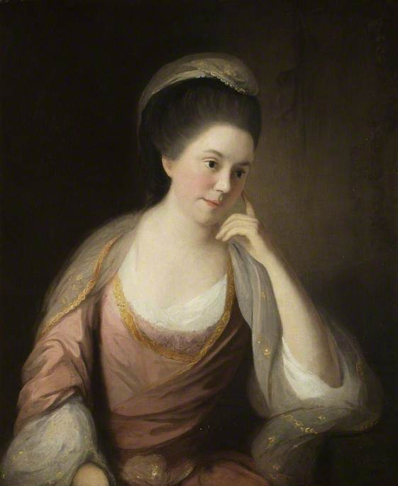 Lady in a Pink Dress