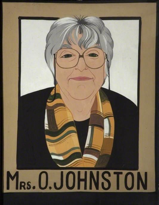 Mrs O. Johnston (b.1934)