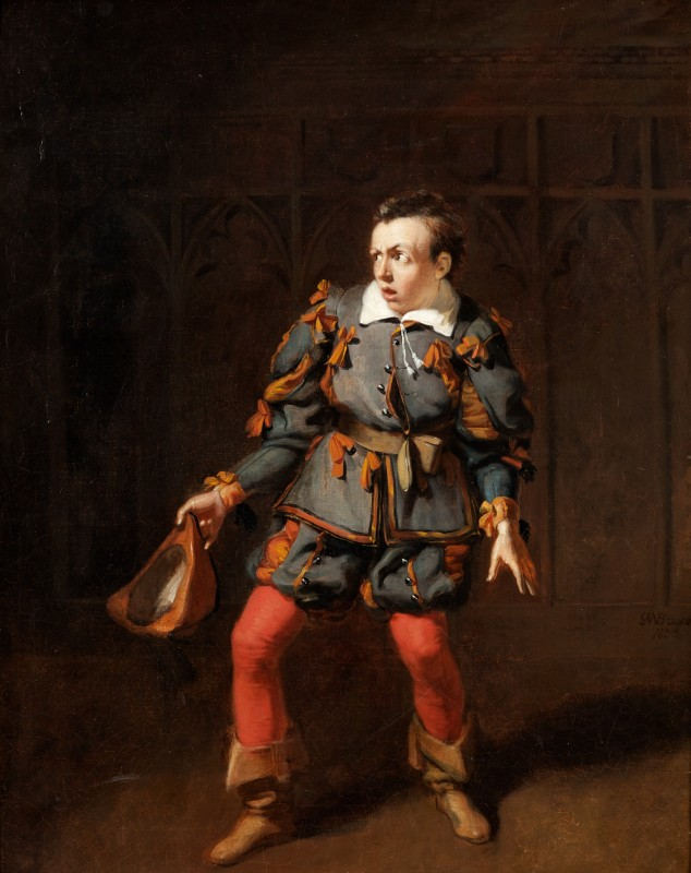J. B. Buckstone as Spado in 'The Castle of Andalusia' by John O'Keefe, Haymarket Theatre, 1833