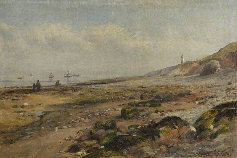 Burnham Beach, 5 August 1856
