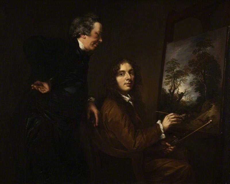 Thomas Barker and His Preceptor Charles Spackman
