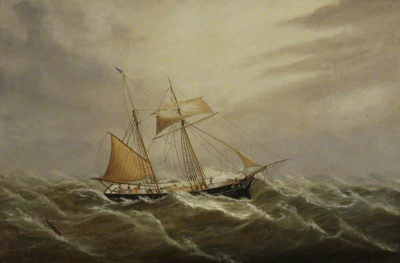 The Topsail Schooner 'Kelso'
