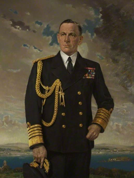 Admiral of the Fleet Sir James Fownes Somerville (1882–1949), GBE, GCB, KBE, KCB, CB, DSO