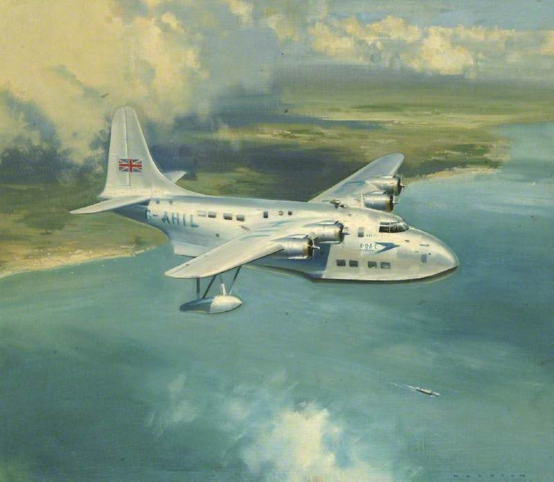 BOAC Shorts S45A Solent Seaplane, 'Salisbury'