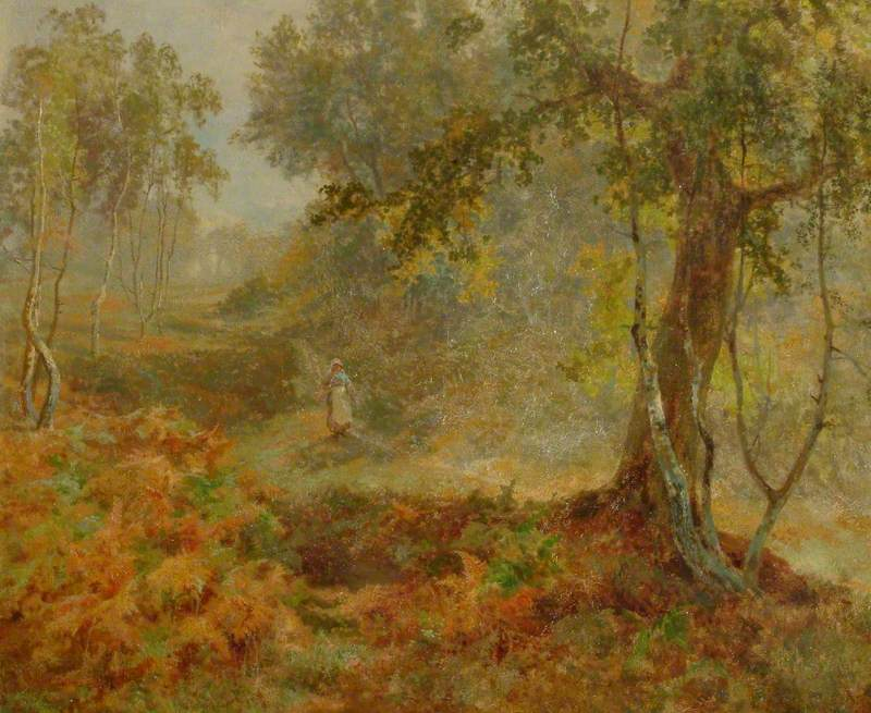 'Autumn Gold', the Nower, Dorking, Surrey