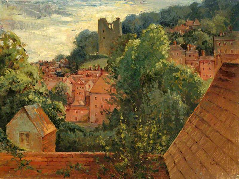 View of Guildford Castle, Surrey