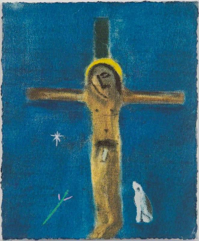Crucifixion and Dog