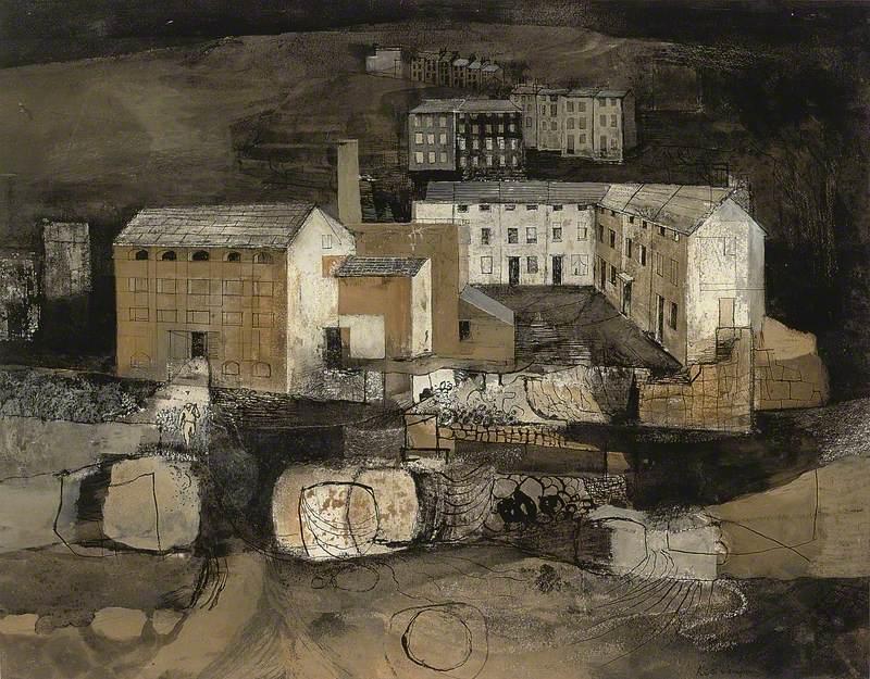 Industrial Landscape III, Morton Mill