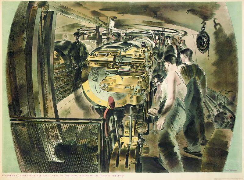 Fifteen-Inch Gun Turret, HMS 'Repulse'