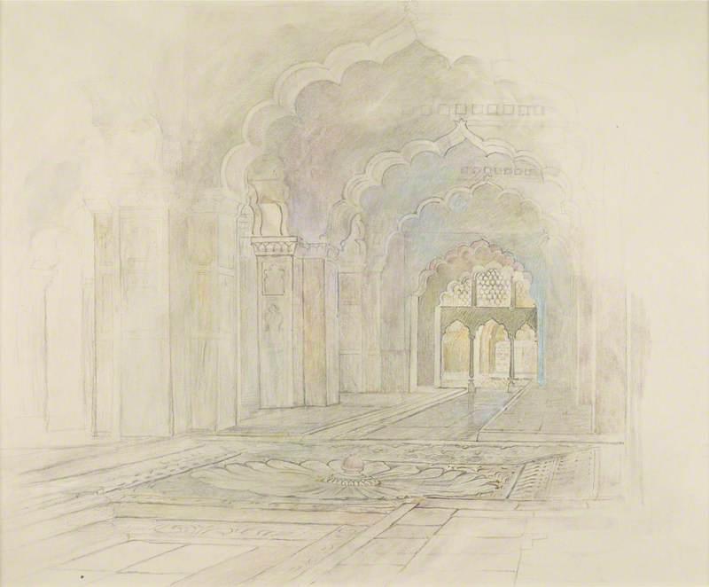 India: Delhi – Red Fort, Rang Mahal