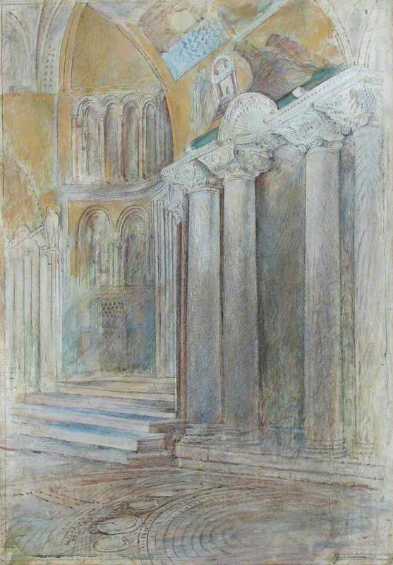 Italy: Venice – St Mark's Basilica, in the Narthex