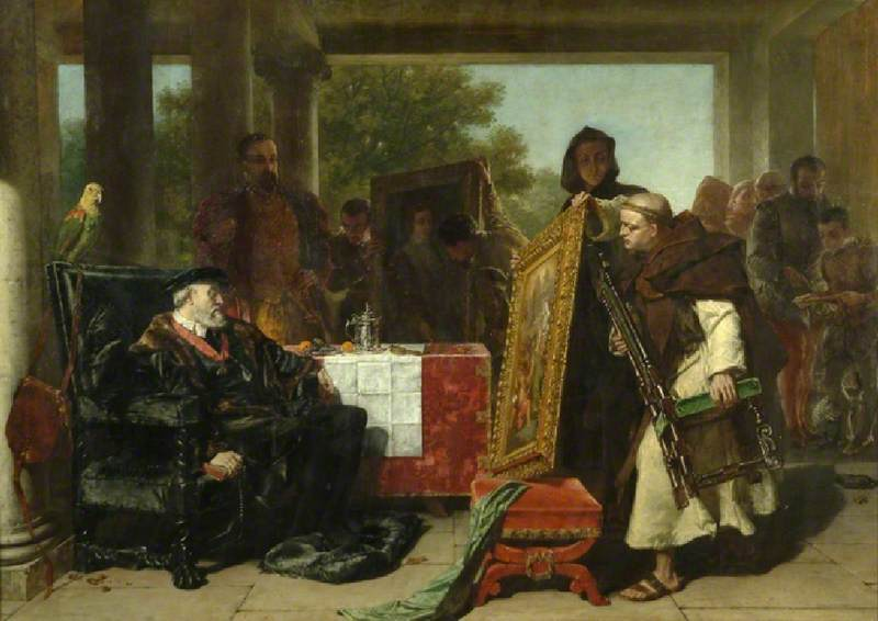 The Emperor Charles V at the Convent of St Yuste