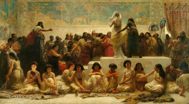 The Babylonian Marriage Market