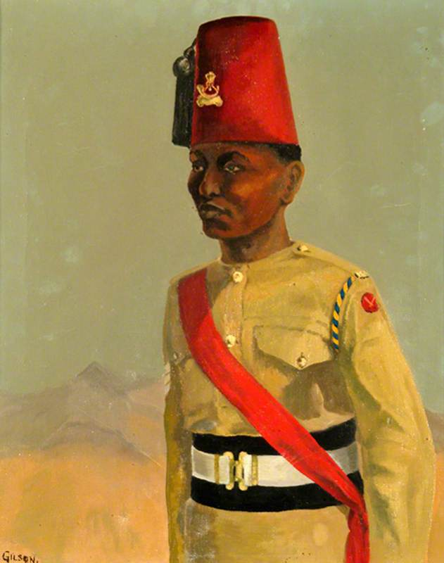 Soldier of the King's African Rifles, Ceremonial Dress