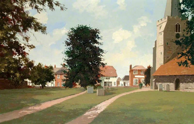 Chobham Churchyard, Surrey