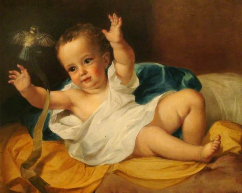 Gerald Hamilton as an Infant