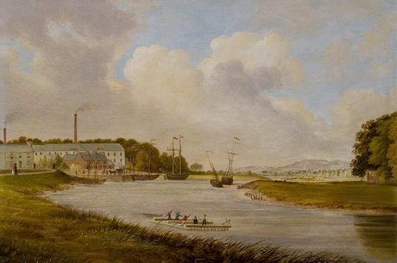 Kingholm Quay, Dumfries, 1849