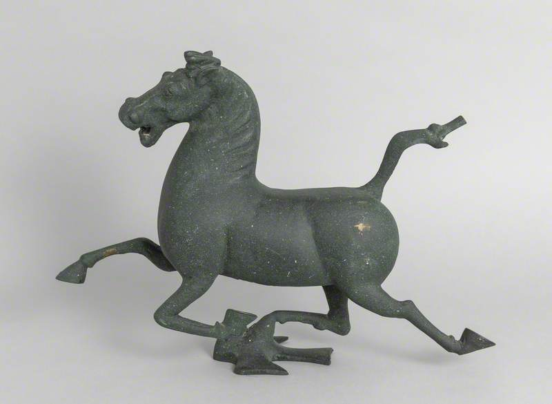 Replica of a Second Century Chinese Horse