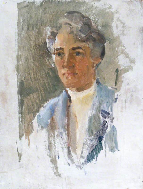 Unfinished Portrait of a Woman