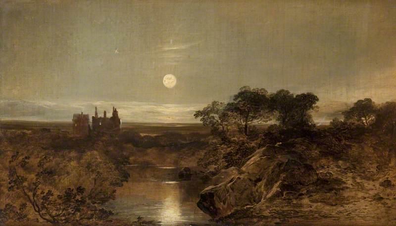Dean Castle by Moonlight