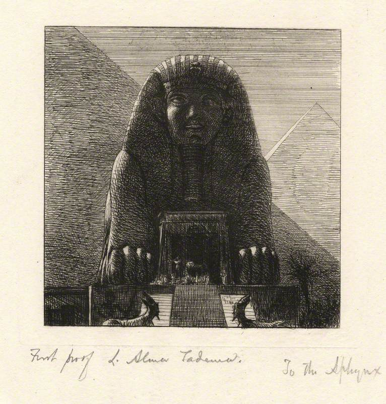 To the Sphynx