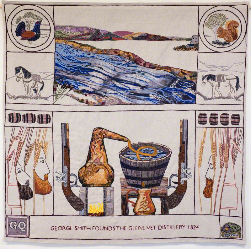 George Smith Founds the Glenlivet Distillery 1824