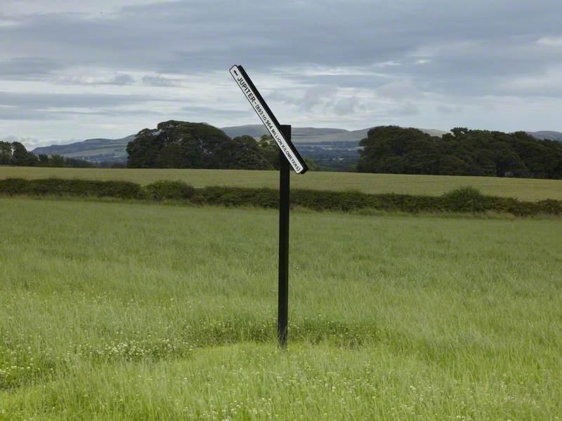 Signpost to Jupiter