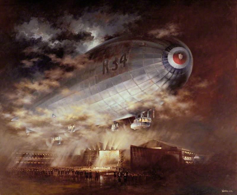 British Airship R34