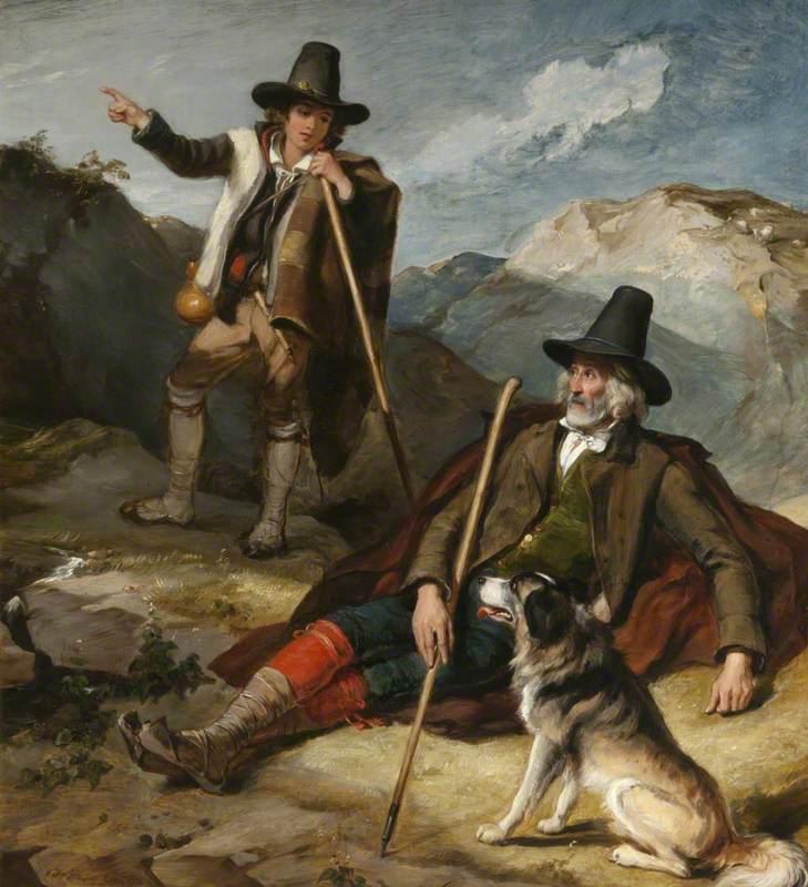 Abruzzi/Tyrolean Peasants