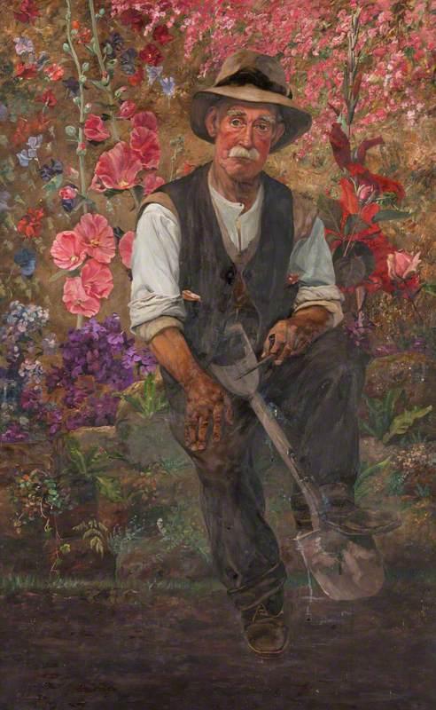Old Scott, the Gardener