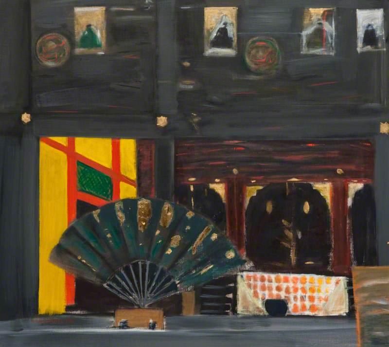 Black Fan, Konchi-in, Kyoto