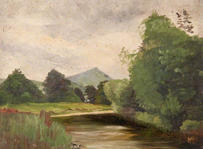 The Tweed at Peebles