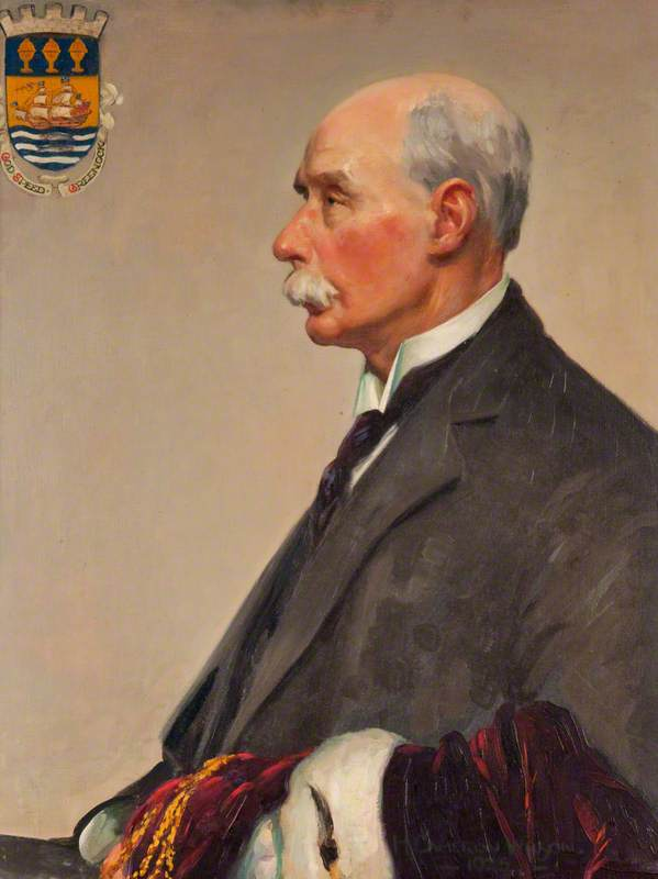 Thomas Baxter, Provost of Greenock (1922–1924)