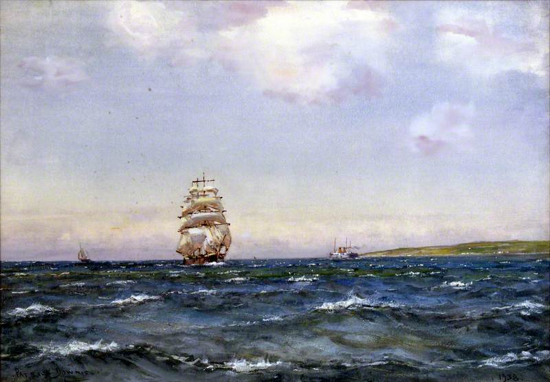 A Summer Breeze, Firth of Clyde