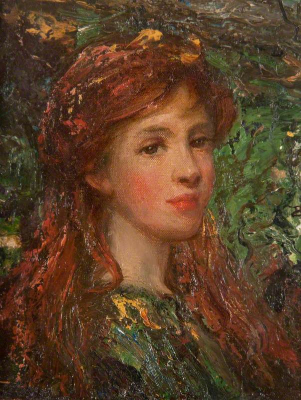 The Head of a Girl