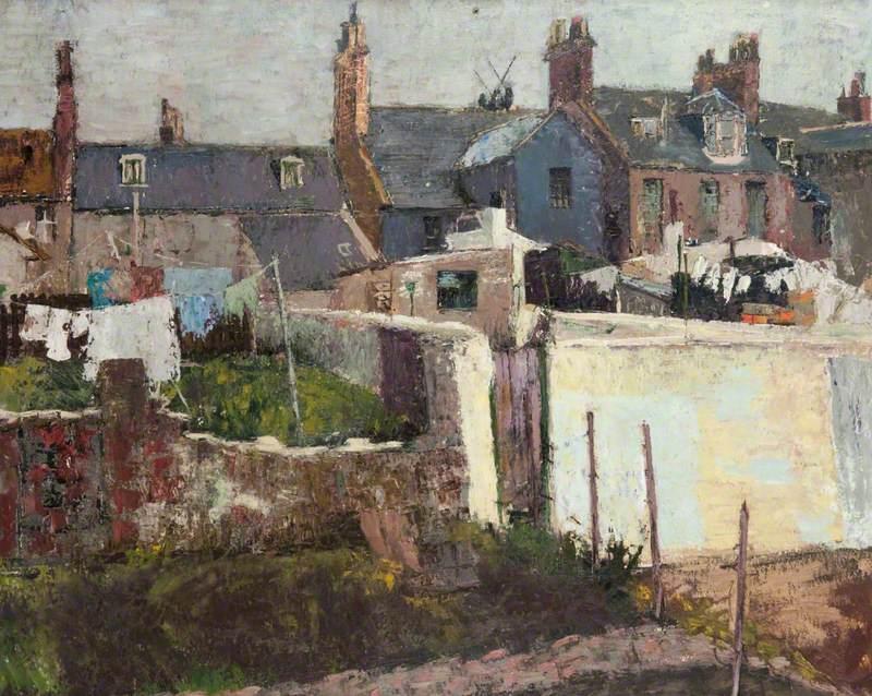 Houses at Arbroath
