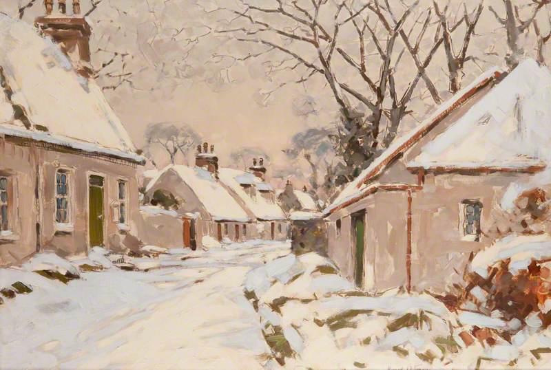 Symington, Ayrshire, Snow Scene