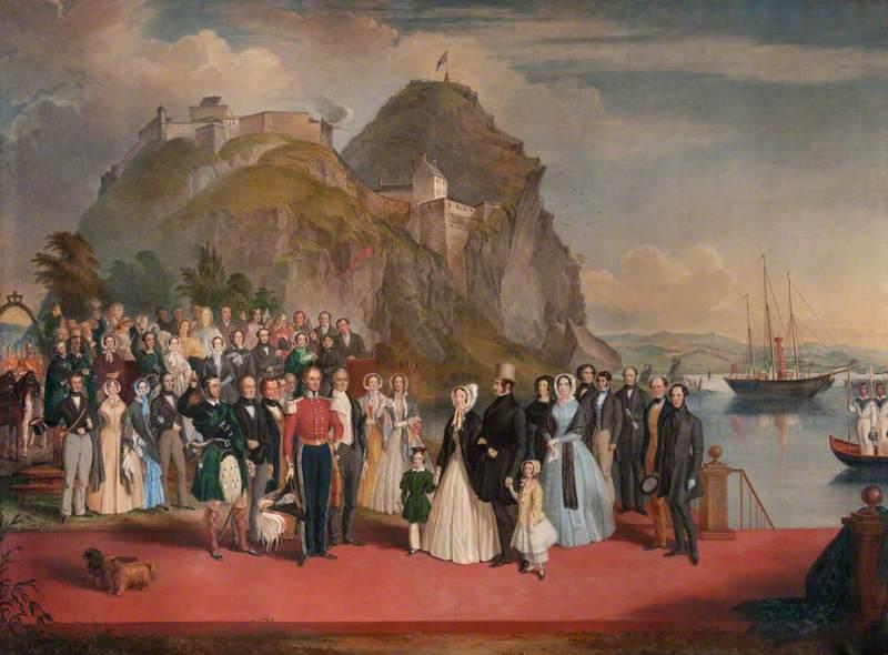 Landing of Queen Victoria at Dumbarton