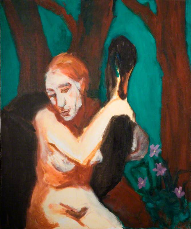 Woman with Swan I