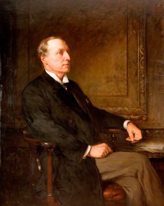 T. Vincent Jackson (c.1836–1901), Surgeon, Mayor of Wolverhampton (1886–1887)