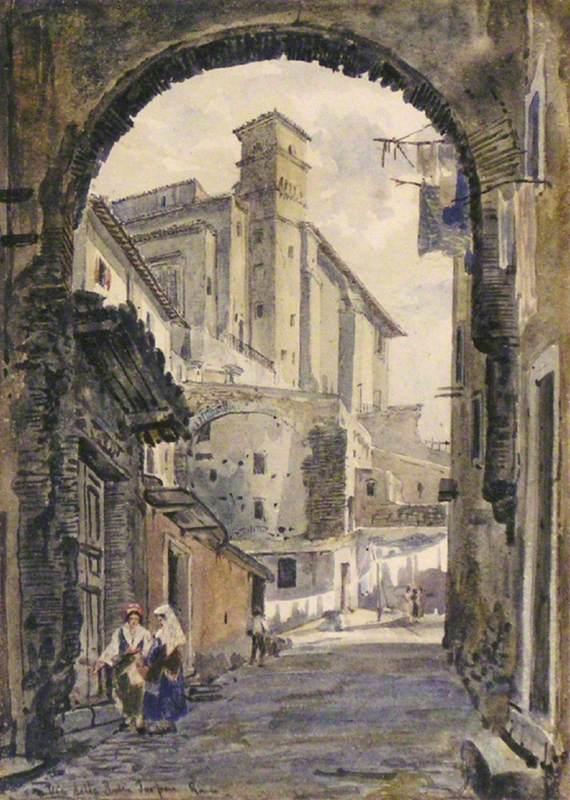 Via della rupe, Rome